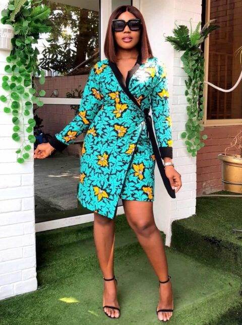 25 PICTURES_ Engrossing Ankara Styles For Works & Engagements 2020